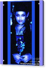 Gypsy Princess Acrylic Print