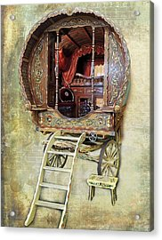 Gypsy Wagon Acrylic Print