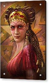 Gypsy Woman Acrylic Print