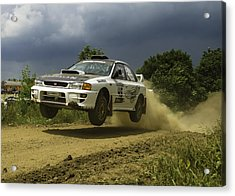 Gzb Rally Team In Flight Acrylic Print