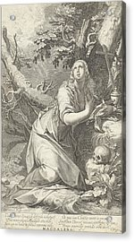 H Penitent Mary Magdalene Acrylic Print