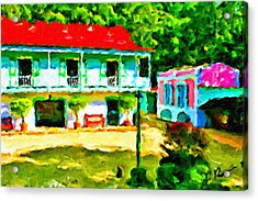 Hacienda Acrylic Print