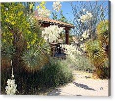 Acrylic Print featuring the photograph Hacienda by Linda Cox
