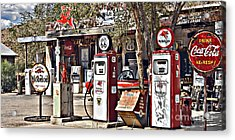Acrylic Print featuring the photograph Hackberry On 66 by Lee Craig