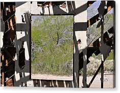 Had A Nice View Acrylic Print by Pamela Schreckengost