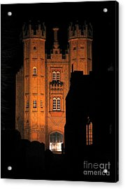 Hadleigh Deanery By Night Acrylic Print