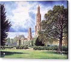 Hadlow Tower Acrylic Print