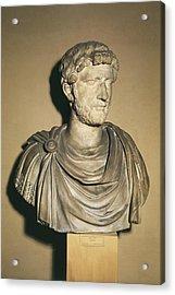 Hadrian 76-138. Roman Emperor 117-138 Acrylic Print