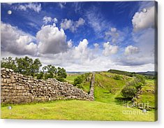 Hadrians Wall Acrylic Print by Colin and Linda McKie