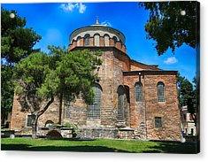 Hagia Irene - Istanbul Acrylic Print by Stephen Stookey