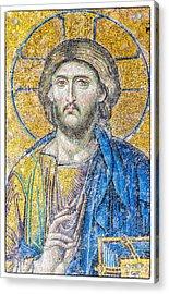 Hagia Sofia Jesus Mosaic Acrylic Print