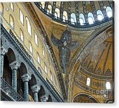 Acrylic Print featuring the photograph Hagia Sophia 2 - Istanbul by Cheryl Del Toro