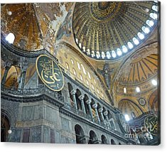 Hagia Sophia 4 - Istanbul Acrylic Print