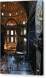 Hagia Sophia Acrylic Print by Stephen Stookey