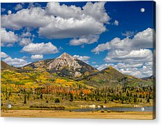 Hahn Peak And Steamboat Lake State Park Acrylic Print