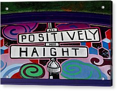 Haight-ashbury Art In San Francisco Acrylic Print