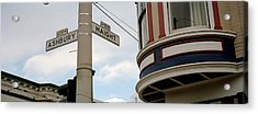 Haight Ashbury District San Francisco Ca Acrylic Print by Panoramic Images
