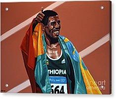 Haile Gebrselassie Acrylic Print