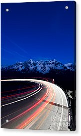 Hairpin Turn Acrylic Print
