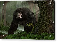 Hairy Beast Acrylic Print by Daniel Eskridge