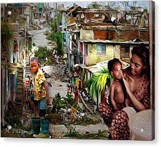 Haiti On My Mind Acrylic Print