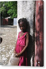 Haitian Princess Five Acrylic Print by Bob Snyder
