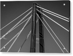 Hale Boggs Memorial Bridge Acrylic Print by Andy Crawford