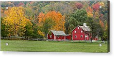 Hale Farm And Village Acrylic Print by Daniel Behm