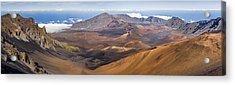 Haleakala Crater Hawaii Acrylic Print