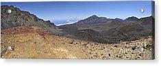 Haleakala Crater Acrylic Print by Sami Sarkis