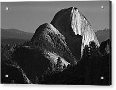 Half Dome At Sunset Acrylic Print