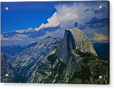 Half Dome From Glacier Point Acrylic Print by Eric Tressler