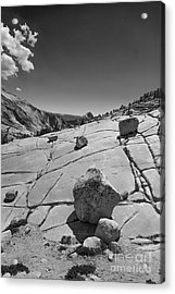 Half Dome From Olmsted Point Acrylic Print by Terry Garvin