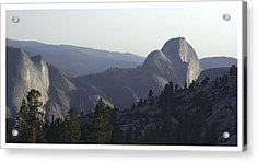 Half Dome From Olmsted Pt Acrylic Print