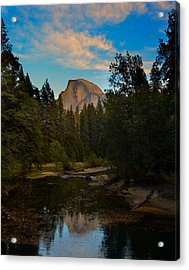 Half Dome In Yosemite Acrylic Print