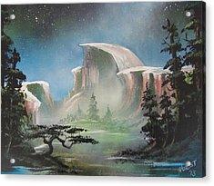 Half Dome Acrylic Print by Jim Hurst
