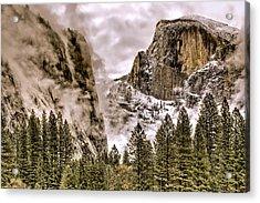 Menacing Rocks Acrylic Print