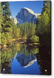 2m6709-half Dome Reflect - V Acrylic Print