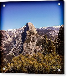 Half Dome Yosemite Nationa Park Acrylic Print