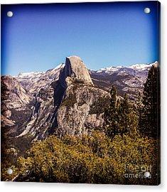Half Dome Yosemite Nationa Park Acrylic Print
