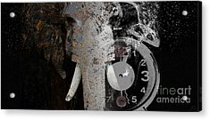 Half Past Extinction Acrylic Print by Nola Lee Kelsey