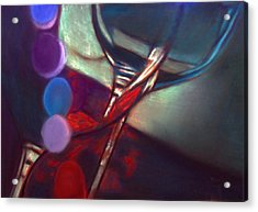 Half Price Wine Night Acrylic Print by D Rogale