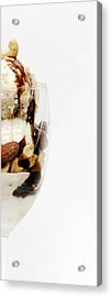 Half The Calories Half The Fat Right Side Acrylic Print
