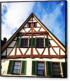 Half-timbered House 02 Acrylic Print