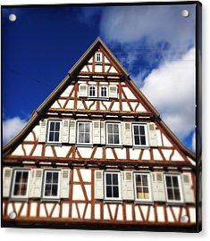 Half-timbered House 03 Acrylic Print