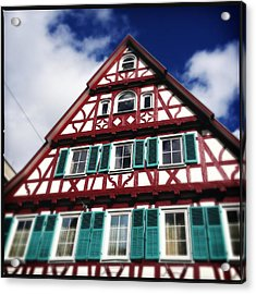 Half-timbered House 04 Acrylic Print