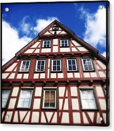 Half-timbered House 05 Acrylic Print