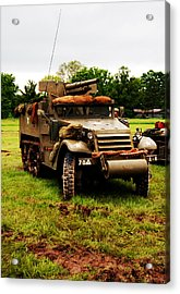 Half- Track Acrylic Print by Jame Hayes