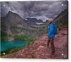 Acrylic Print featuring the photograph Halfway There by Rob Wilson