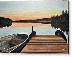 Haliburton Dock Acrylic Print